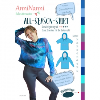 AnniNanni-Schnittmuster All-Season-Shirt